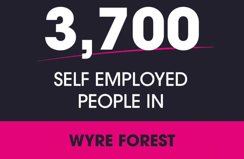 Wyre Forest Self Employed covid